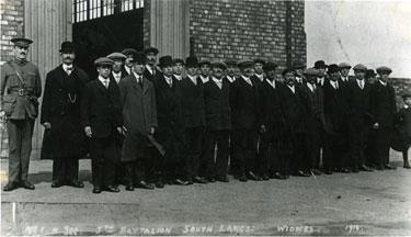 5th Battalion, South Lancs, Widnes