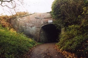 Red Brow Runcorn, road under Bridgewater Canal