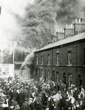 Theatre Royal Runcorn destroyed by fire