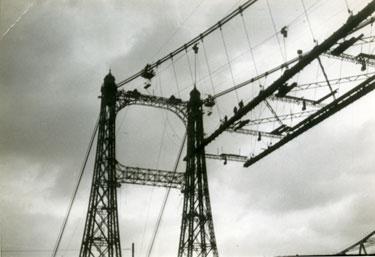 Construction of Transporter Bridge