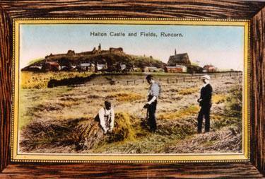 Halton Castle and fields, Runcorn