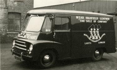 Highfield Leather company van