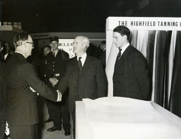 The Highfield Tanning Company, Paris Exhibition.