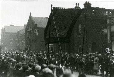 Brunswick Sunday School walking on Whit Monday 1932