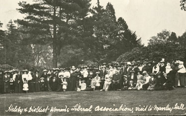 Helsby Womens Liberal Association visit to Manley Hall