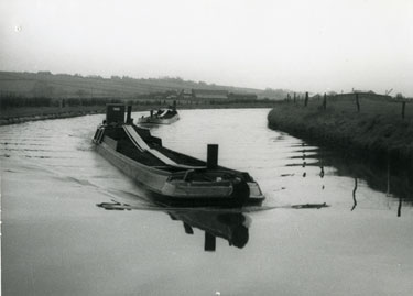 Barges on the Bridgewater Canal