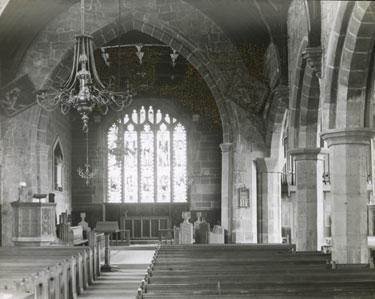 Farnworth church interior