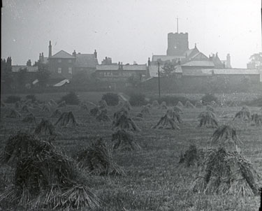 Old view of Farnworth and Church
