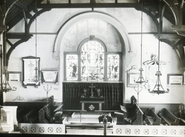 Farnworth Church - interior
