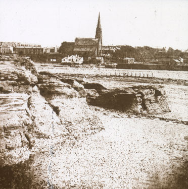 View of Runcorn Parish Church from Widnes
