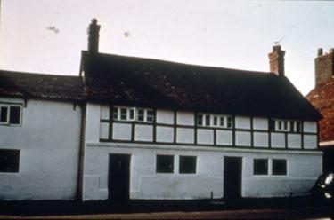 White Cottages on Main Street, Halton