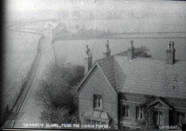 Farnworth School from the church tower