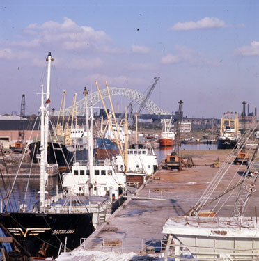 Boats at Runcorn Docks