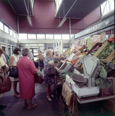 Runcorn Market stalls