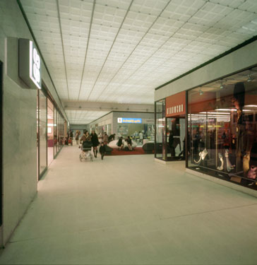 View of interior of Runcorn Shopping City