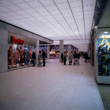 View of interior of Runcorn Shopping City