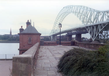 Bridges from Widnes side