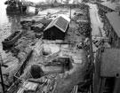 Runcorn: Foundations for the Road Bridge