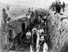 Manchester Ship Canal: Construction at Runcorn
