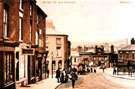 Runcorn, Bridge Street and Fountain, 1900s