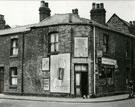 P. Burke's shop on the corner of Oxford Street and Lugdale Road, Widnes