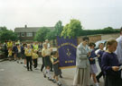 St Gerard's School, Lugsdale Road, May Procession