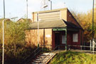 Runcorn East station, looking west to ticket office