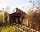 Runcorn East station, ticket office looking SW