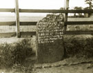 Ditton Murder Stone