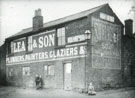 Lea and Sons. Plumbers, Painters, Glaziers.